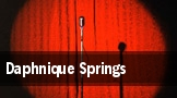 Daphnique Springs tickets