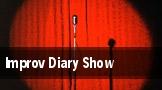 Improv Diary Show tickets