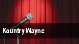 Kountry Wayne tickets
