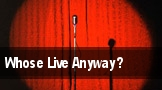 Whose Live Anyway? Raleigh tickets