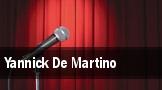 Yannick De Martino tickets