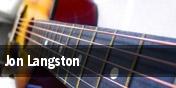 Jon Langston tickets