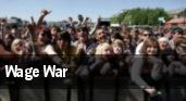 Wage War tickets