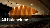 All Balanchine tickets