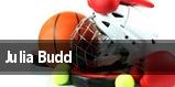 Julia Budd tickets