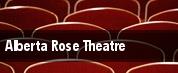 Alberta Rose Theatre tickets