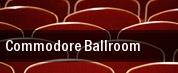Commodore Ballroom tickets