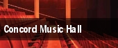 Concord Music Hall tickets