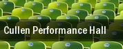 Cullen Performance Hall tickets