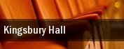Kingsbury Hall tickets