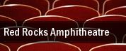 Red Rocks Amphitheatre tickets